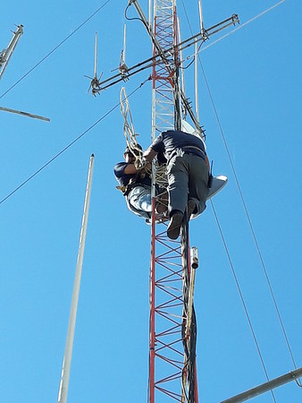 Change out CREBC 5 GHZ link to Otay Mtn, for bigger and better.