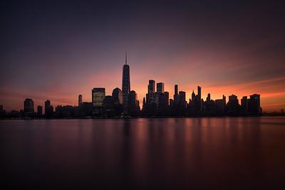 City under fire