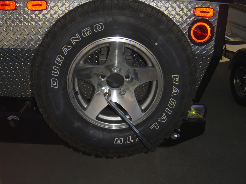 Put tunctured tire where the spare is kept and repair or replace as soon as possible.