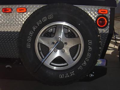 Remove Spare tire