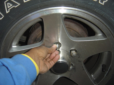 Replace the lugs