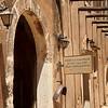 Icon gallery entrance.
