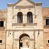 Entrance to Arkadi monastery.