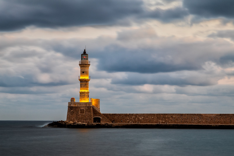Famous Chania Lighthouse