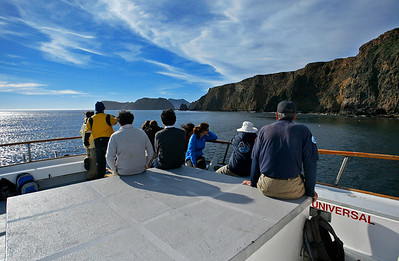 Vanguard cruising the south side of Anacapa. 0111_8576
