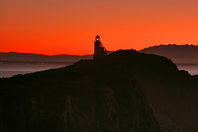 Anacapa lighthouse sunrise. 1_5564