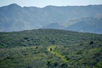 Del Norte trail to Montanon. 0411_1810