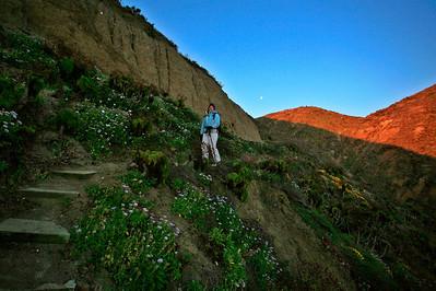 Cuyler Harbor trail, San Miguel Island. 0610_6139