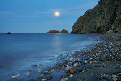 April Fools Moonrise, Scorpion Beach 407_3043