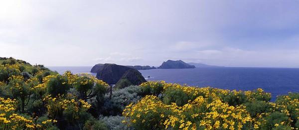 Anacapa island, Inspiration Point284 20 x 46 panorama.