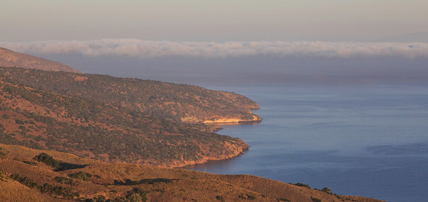 Coast from Prisoners Harbor to Pelican Bay