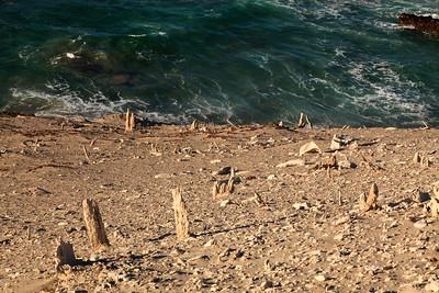 Caliche above Simonton Cove