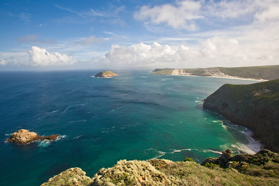 Channel Islands National Park, San Miguel Island, Cuyler Harbor from Lester Point Trail