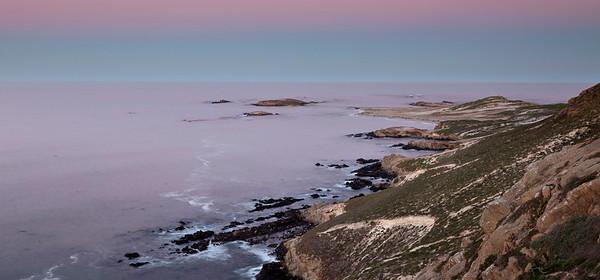 Early morning light, Point Bennett