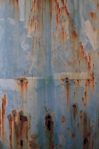 Abandoned water tank