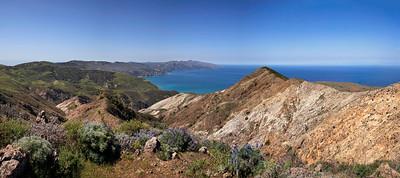 Panorama from Montanon ridge