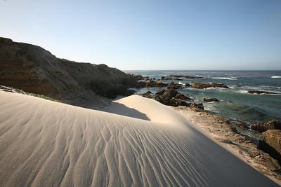 China Camp beach sand dune