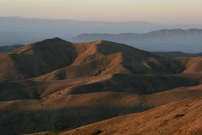 Sunset, looking toward Santa Cruz Island