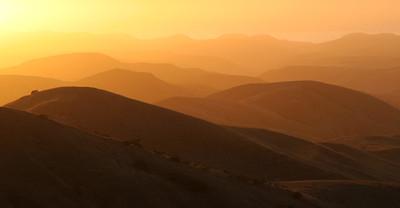 Sunset from near Soledad Peak