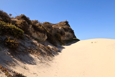Beach sand dunes near Water Canyon