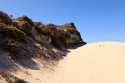 Beach sand dunes near Water Canyon