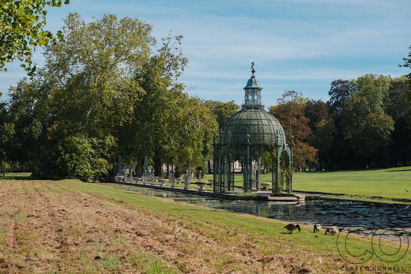 Island of Love<br /> English Gardens<br /> Château de Chantilly<br /> September 2018
