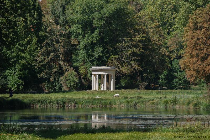 Temple of Venus<br /> English Gardens<br /> Château de Chantilly<br /> September 2018