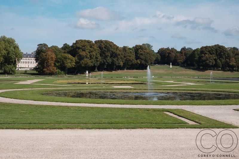 Le Nôtre's French Gardens<br /> Château de Chantilly<br /> September 2018