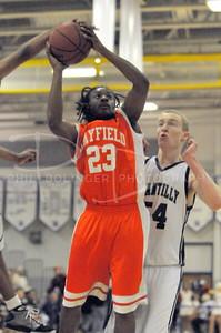 VHSL, AAA Northern Region Basketball Playoffs, Hayfield vs Chantilly, Wed. Feb.25, 2009