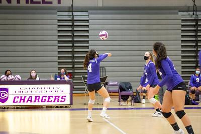 CHS JV Volleyball vs McLean