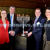State Parliament Chanukah Party. From Left: Gabrielle Upton MP, Ray Williams MP, Jeremy Spinak, NSW Premier Gladys Berejiklian. Pic Noel Kessel