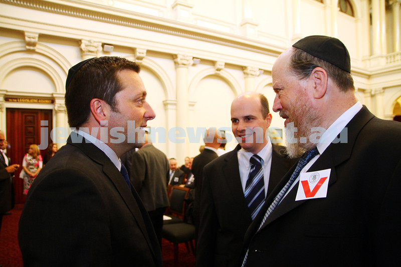 16-12-14. Chanukah at Queens Hall, Parliament House. Photo: Peter Haskin