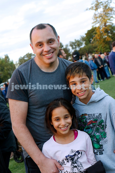 2-12-18. Chanukah in the Park. Caulfield Park. Photo: Peter Haskin