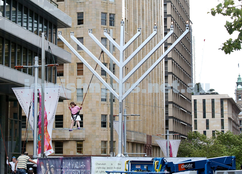 Chanukah In The City. Pic Noel Kessel