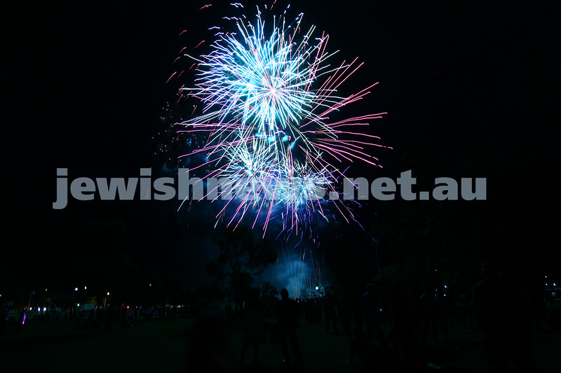 1-12-13.  Chanukah in the Park  2013 at Melbourne's Caulfield Park.  Photo: Peter Haskin