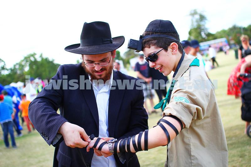 21-12-14. The annual Chanukah in th Park celebrations. Caulfield Park. Photo: Peter Haskin