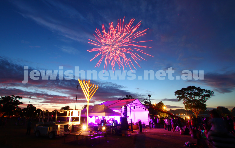 21-12-14. The annual Chanukah in th Park celebrations. Caulfield Park. Photo: Peter Haskin