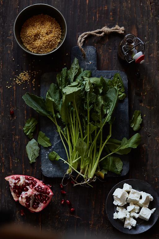 Lui - raapsteeltjes salade Heerlijke Chaos
