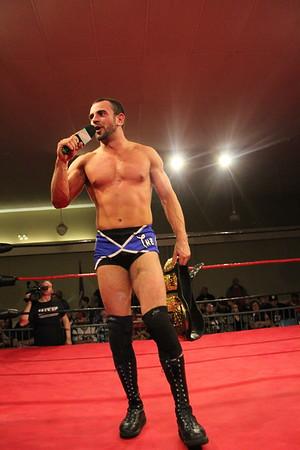 Chaotic Wrestling February 24, 2017 (MAIN EVENT) Chase for the Gold Finals JT Dunn vs. Adam Booker vs. Christian Casanova vs. Elia Markopolos