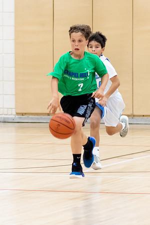 Basketball Summer League Play at Hargraves