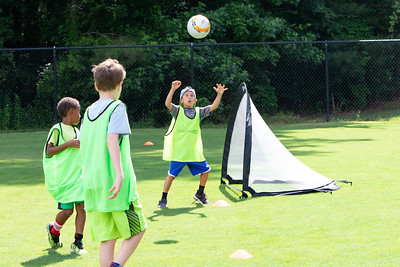 Jump Start Sports Camp Soccer Day