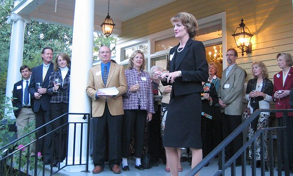Chapel Hill Public Library Foundation's Capital Campaign Kickoff Event, Oct 30, 2005