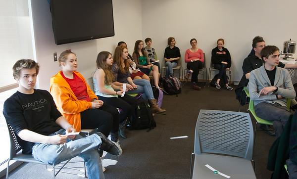Lalin Anik at Meet the Author Tea