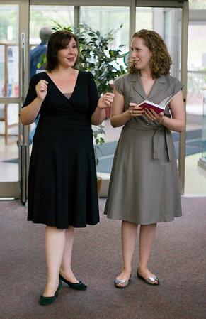 The Opera Company of North Carolina at the Chapel Hill Public Library, Sep 19, 2007