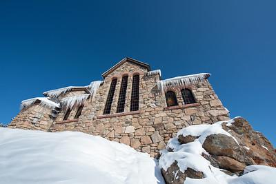 Backside of Chapel on the Rock.