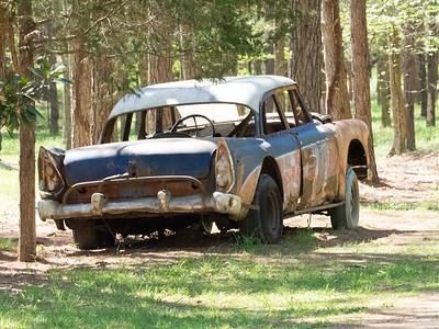 A stocck car