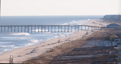 Looking South to the Kure Beach pier