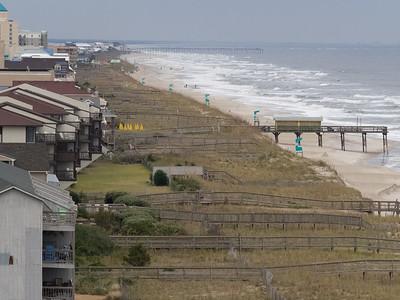 View of Carolina Beach beach