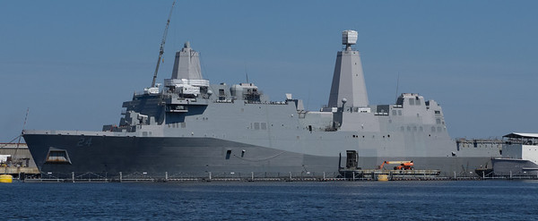 Amphibious Transport Dock (the ship, not the pier)