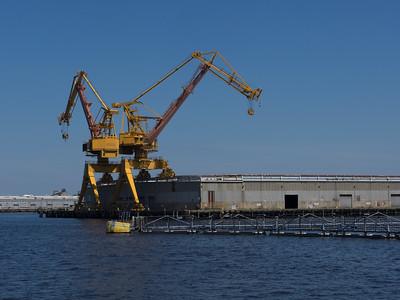Big 'ol cranes